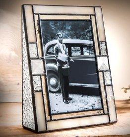 J Devlin Ivory Vertical Glass Frame