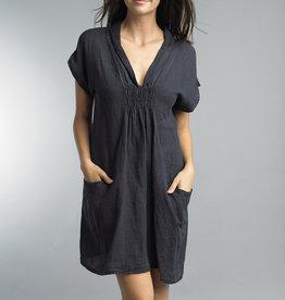 Tempo Paris Linen Dress Short Sleeve