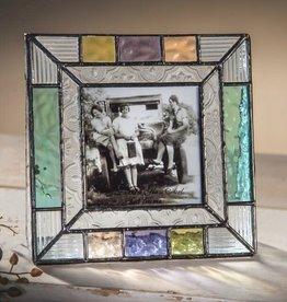 J Devlin Multi-Colored Square Frame