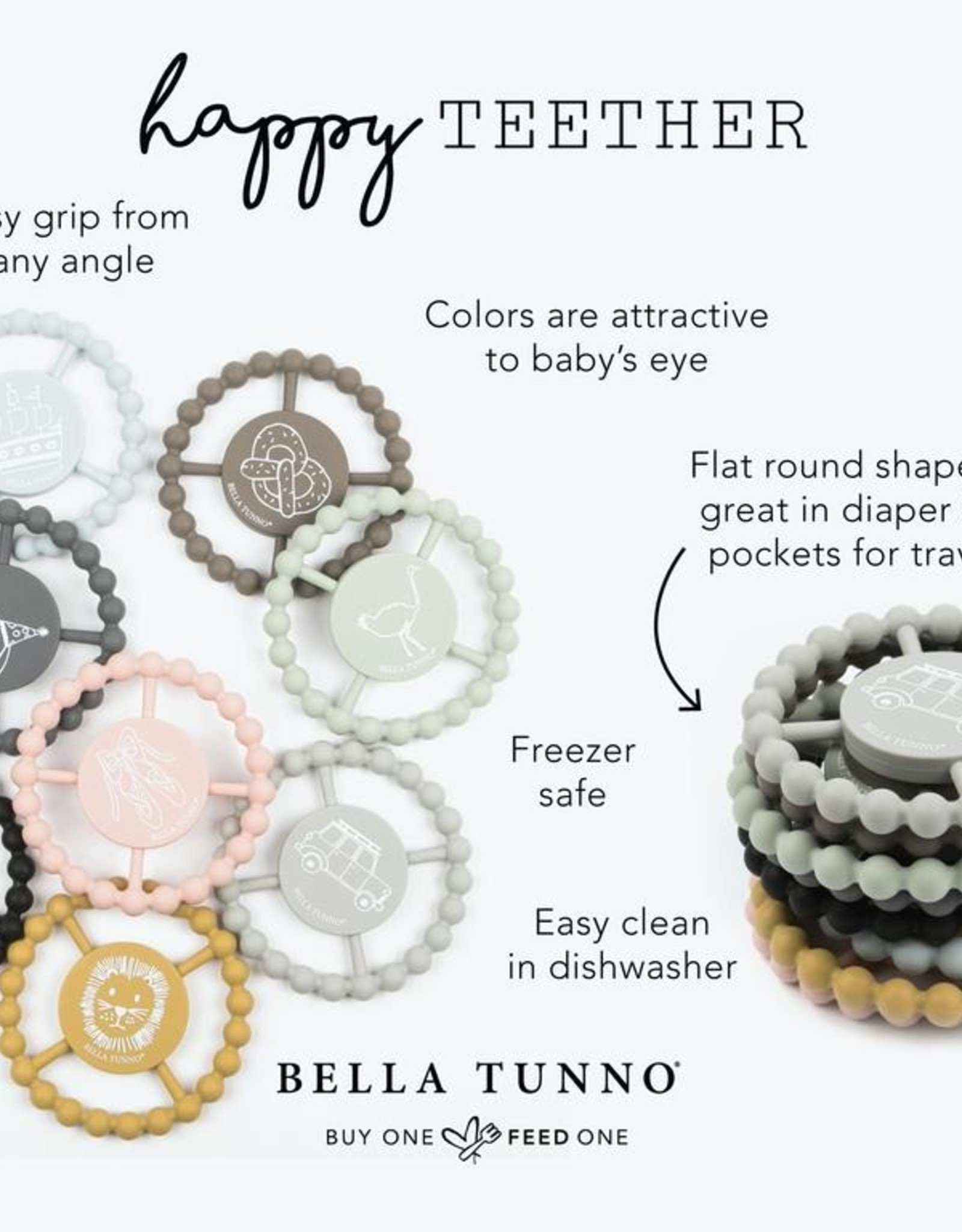 Bella Tunno Silicone Happy Teethers