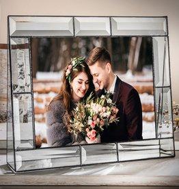 J Devlin Beveled Clear Large Glass Frame