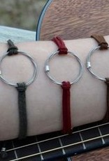 High Strung Studios Suede Tie Bracelet