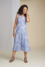 Habitat Linen Vine Print Easy Tank Dress
