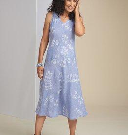Habitat Linen Vine Print Easy Tank Dress
