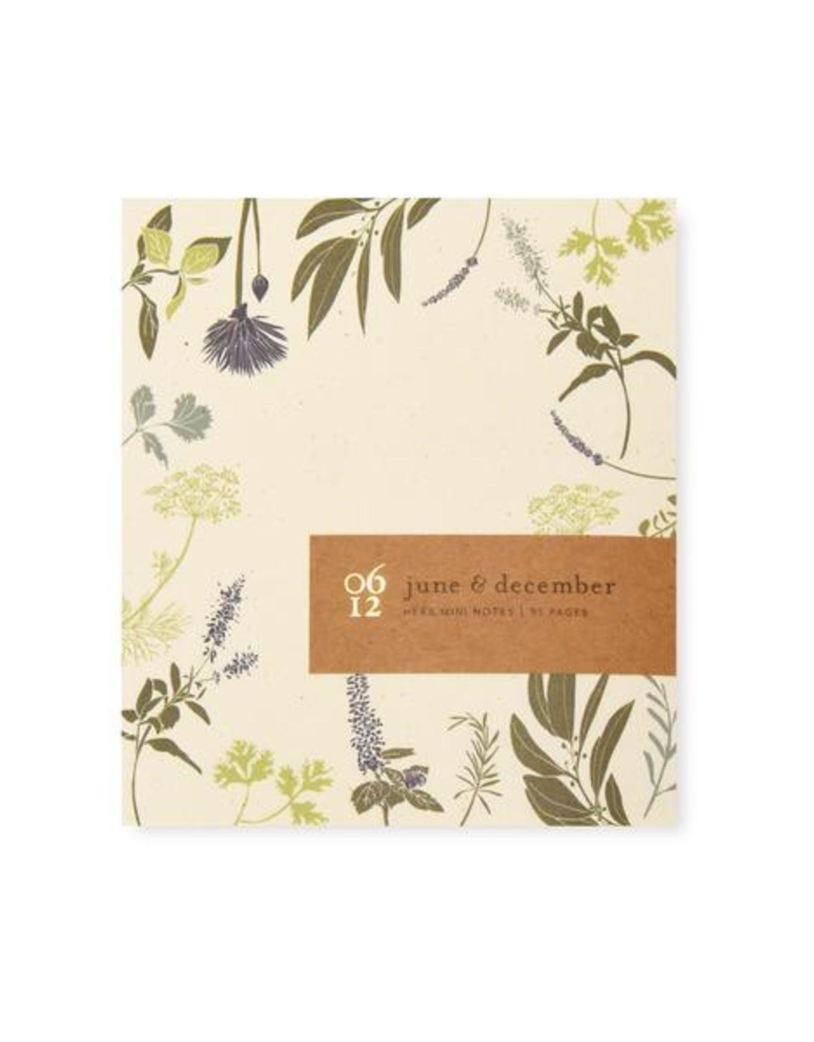 Floral Mini Note pad 3x3