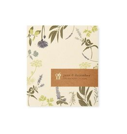 Floral Mini Note pad 3x3