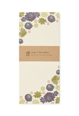 Floral Notepads 4x9