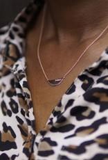 Feminist Necklace Rose Gold