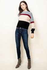 THML Cozy Striped Sweater