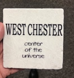 Paisley and Parsley Designs West Chester = Center of Universe  Coaster/Tile