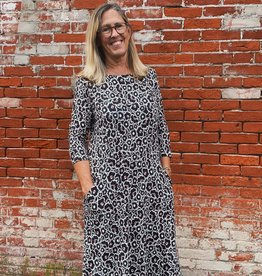 Salaam Rayon Floral Pocket Dress