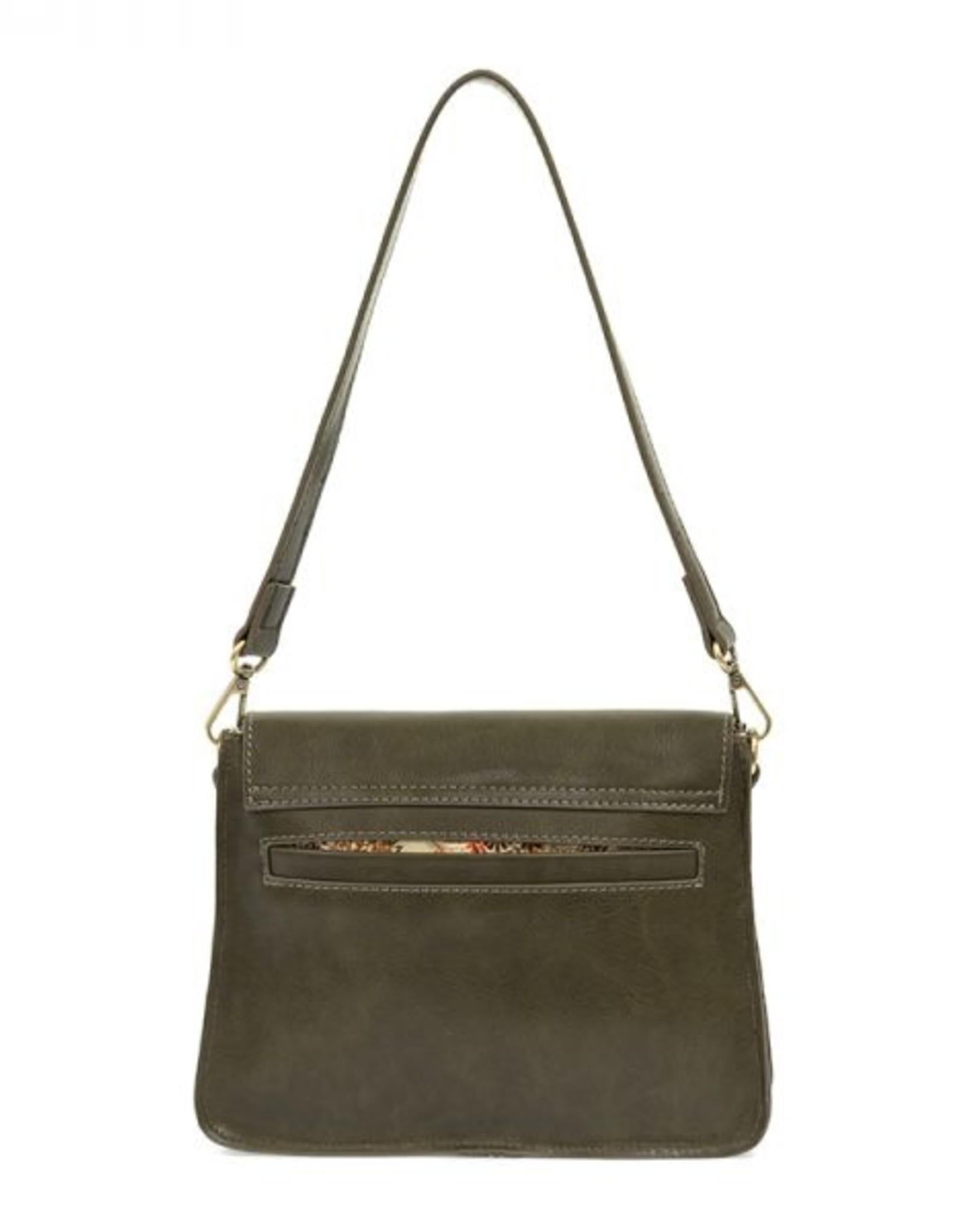 Joy Susan Accessories Drea Convertible Buckle Handbag