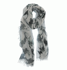 Joy Susan Accessories Printed Fall Scarves