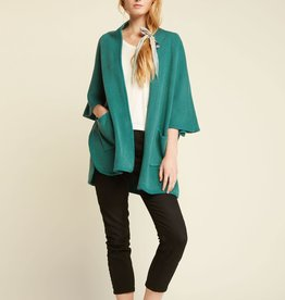Look by M Snuggly Cape Pocket Poncho