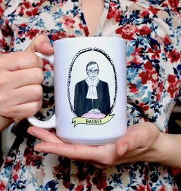 The Card Bureau RBG Bad Ass Mug