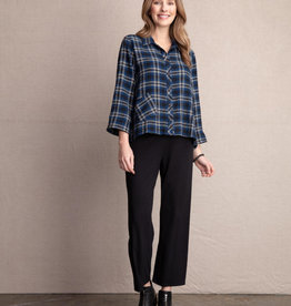 Habitat Plaid Button Swing Shirt