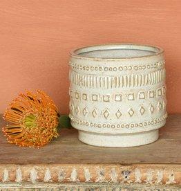 Peru  Ceramic Cachepot - Small
