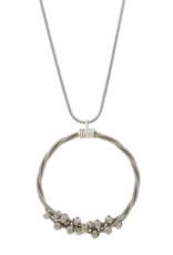 High Strung Studios Floating  Melody   Necklace