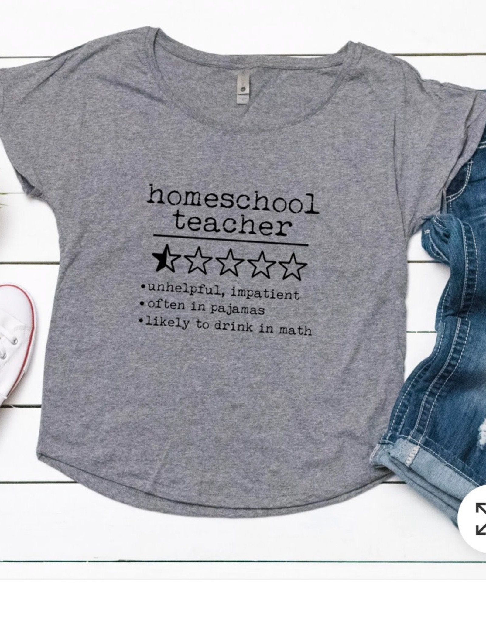 Moonlight Makers Homeschool Teacher DolmanTee
