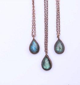 Hawk House Blue Labradorite Necklace