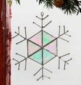 J Devlin Snowflake Ornament