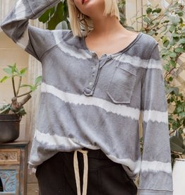 POL Clothing POL Tie Dye Knit Top