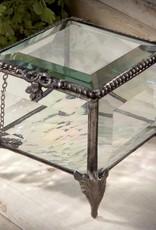 J Devlin Vintage Glass Jewelry Box