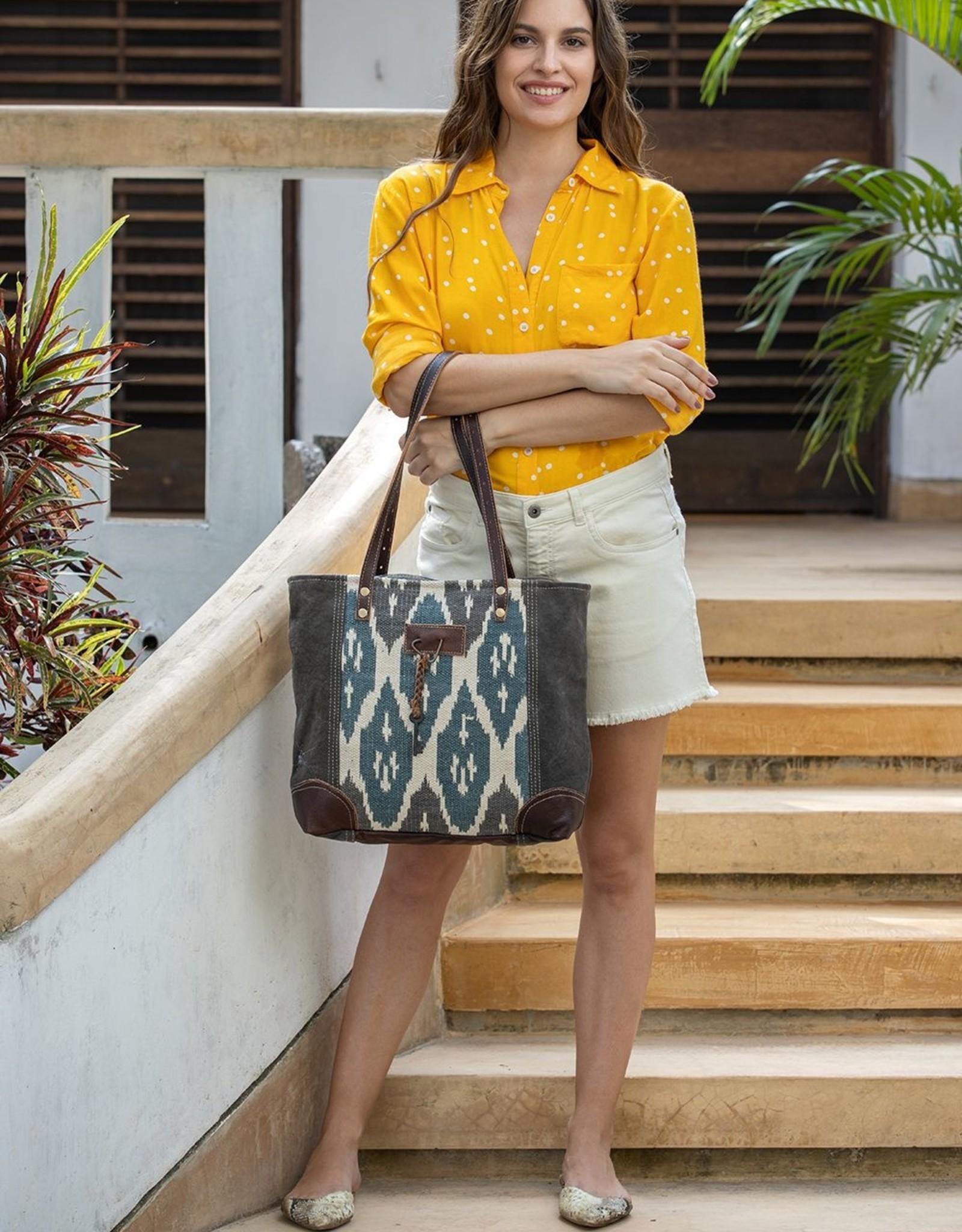 Myra Bag Knotty Affair Kilim Tote Bag