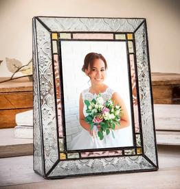 J Devlin Vintage Glass Color Trim Frame 5x7