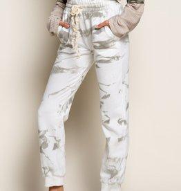 POL Clothing Tie Dye Jogger Pant