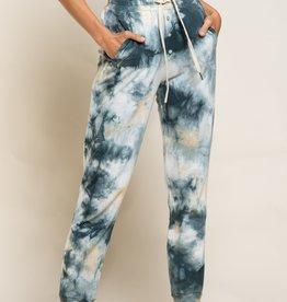 POL Clothing French Terry Tie Dye Pants