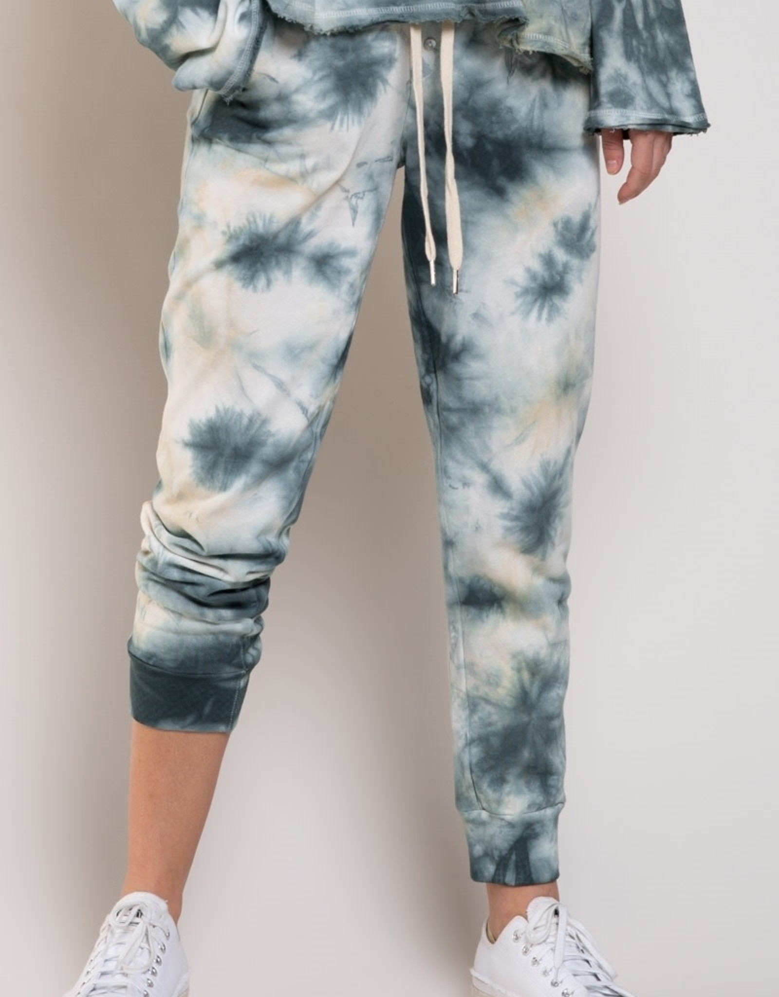 POL Clothing French Terry Tie Dye Jogger