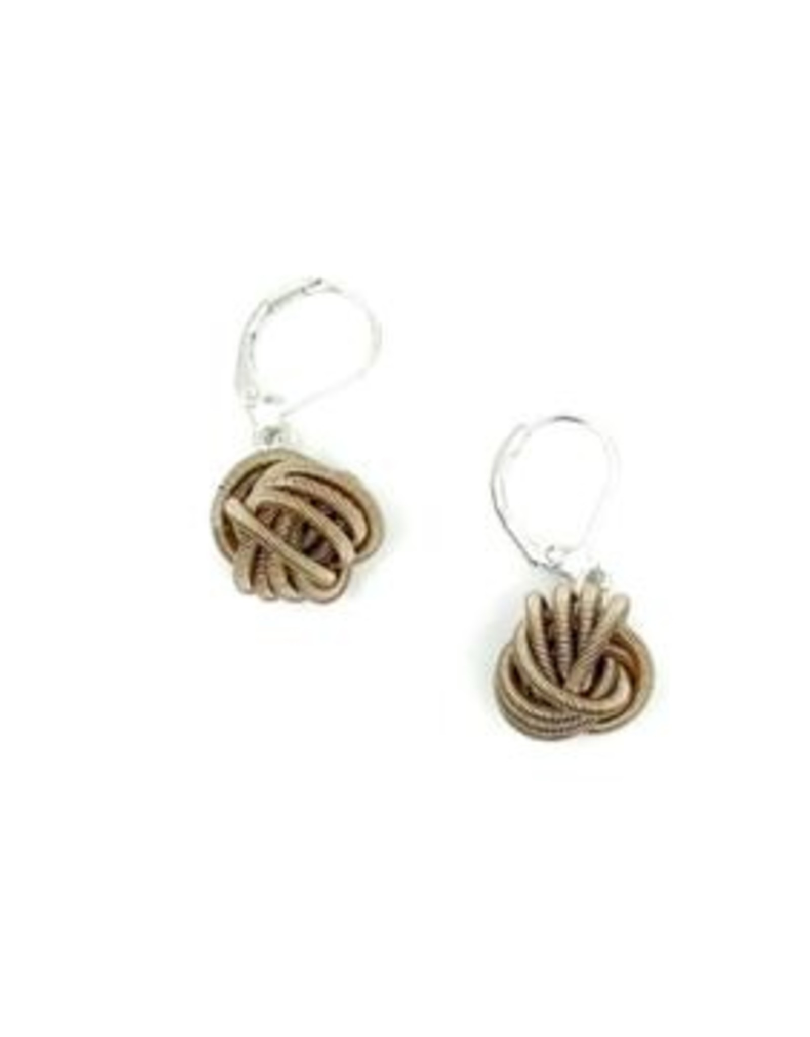 Sea Lily Knot Earring