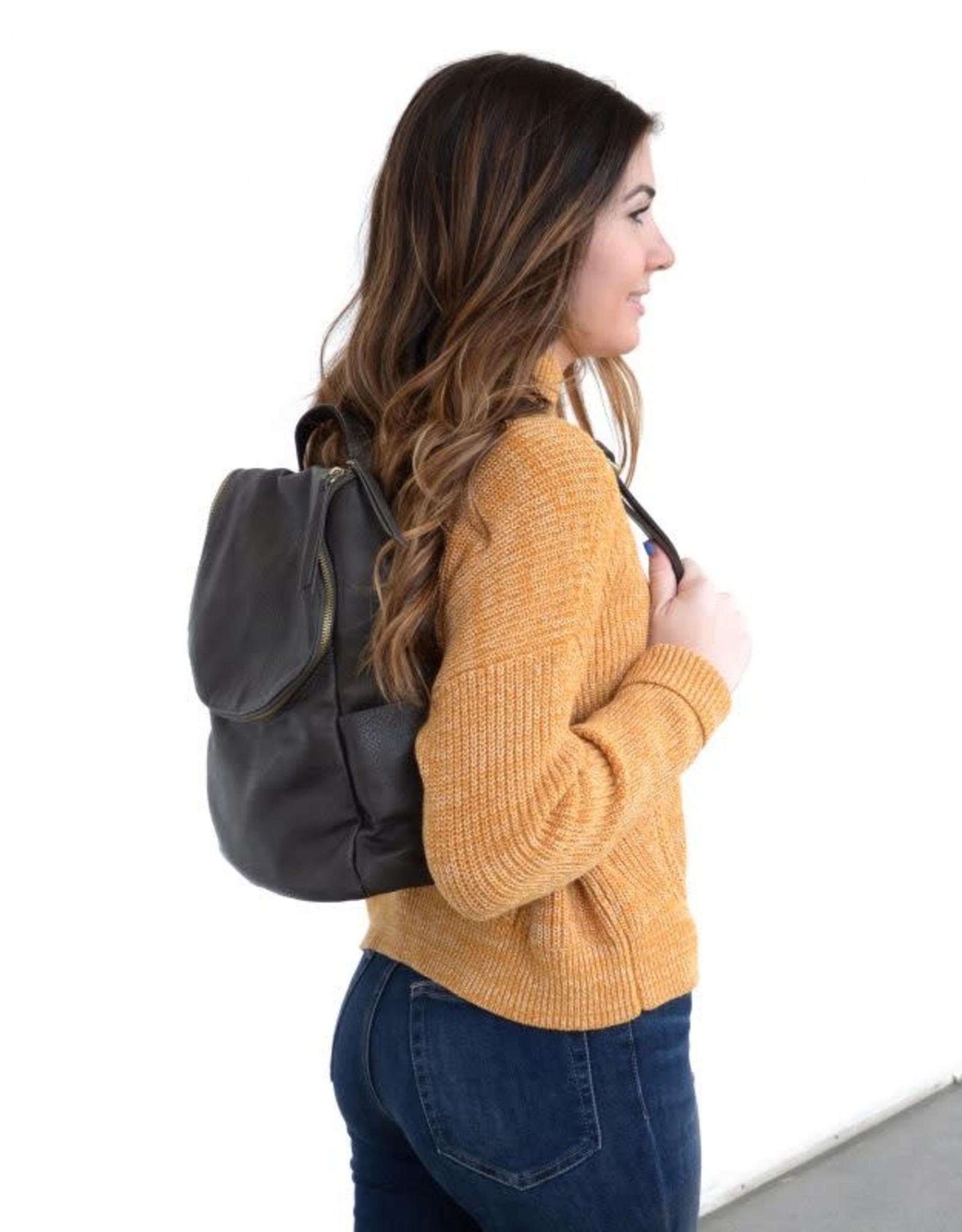 Joy Susan Accessories Kerri Side Pocket Backpack