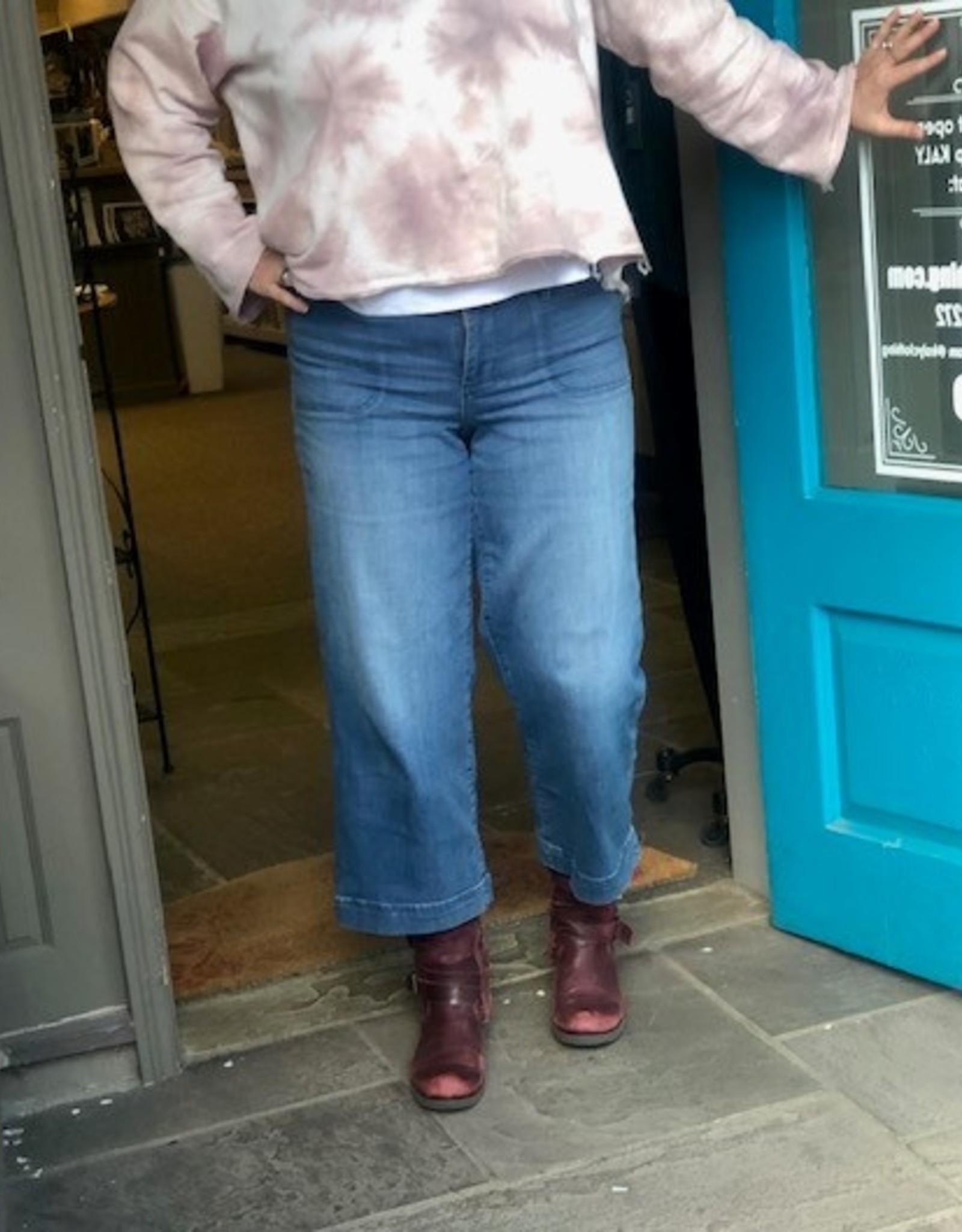 JAG Simone Wide Leg Cropped Jean