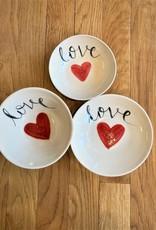 Handmade Ceramic Love Bowl