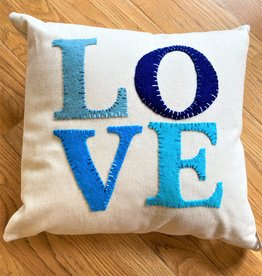 Handmade LOVE Pillows