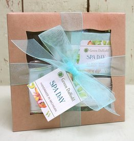 Green Daffodil Bath and Body Herbal Body Gift Sets
