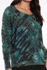 River + Sky Tie Dye Cocoon Sweatshirt