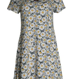 Salaam Cap Sleeve Daisy Tunic Dress