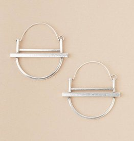 Scout Refined Collection Saturn Hoop Earring