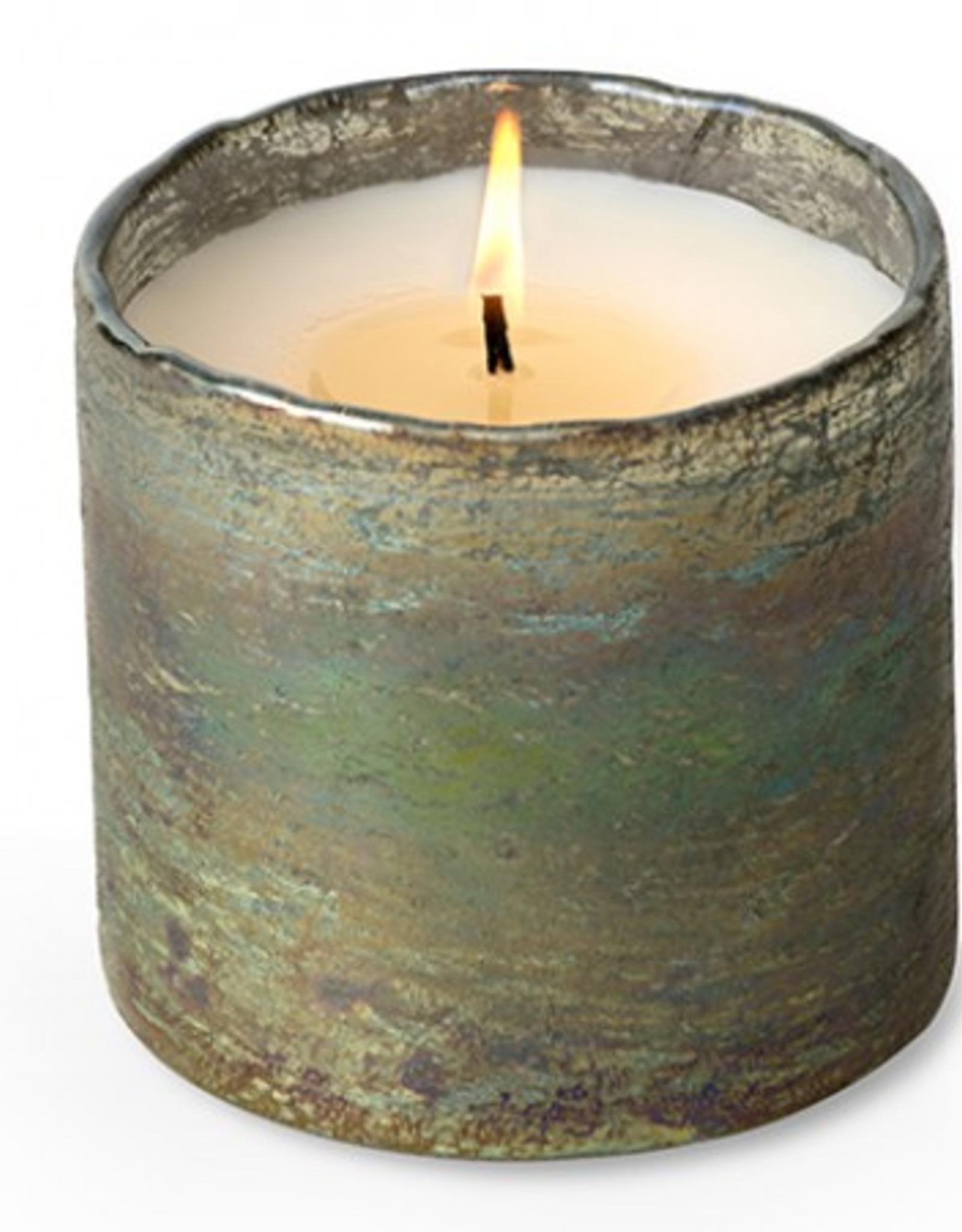 Himalayan Trading Post Artisan Blown Glass Soy Candles