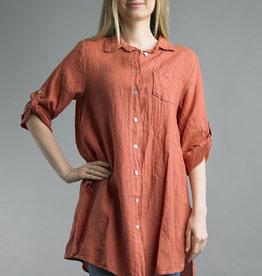 Tempo Paris Classic Linen Shirt