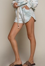 POL Clothing French Terry Tie Dye Short