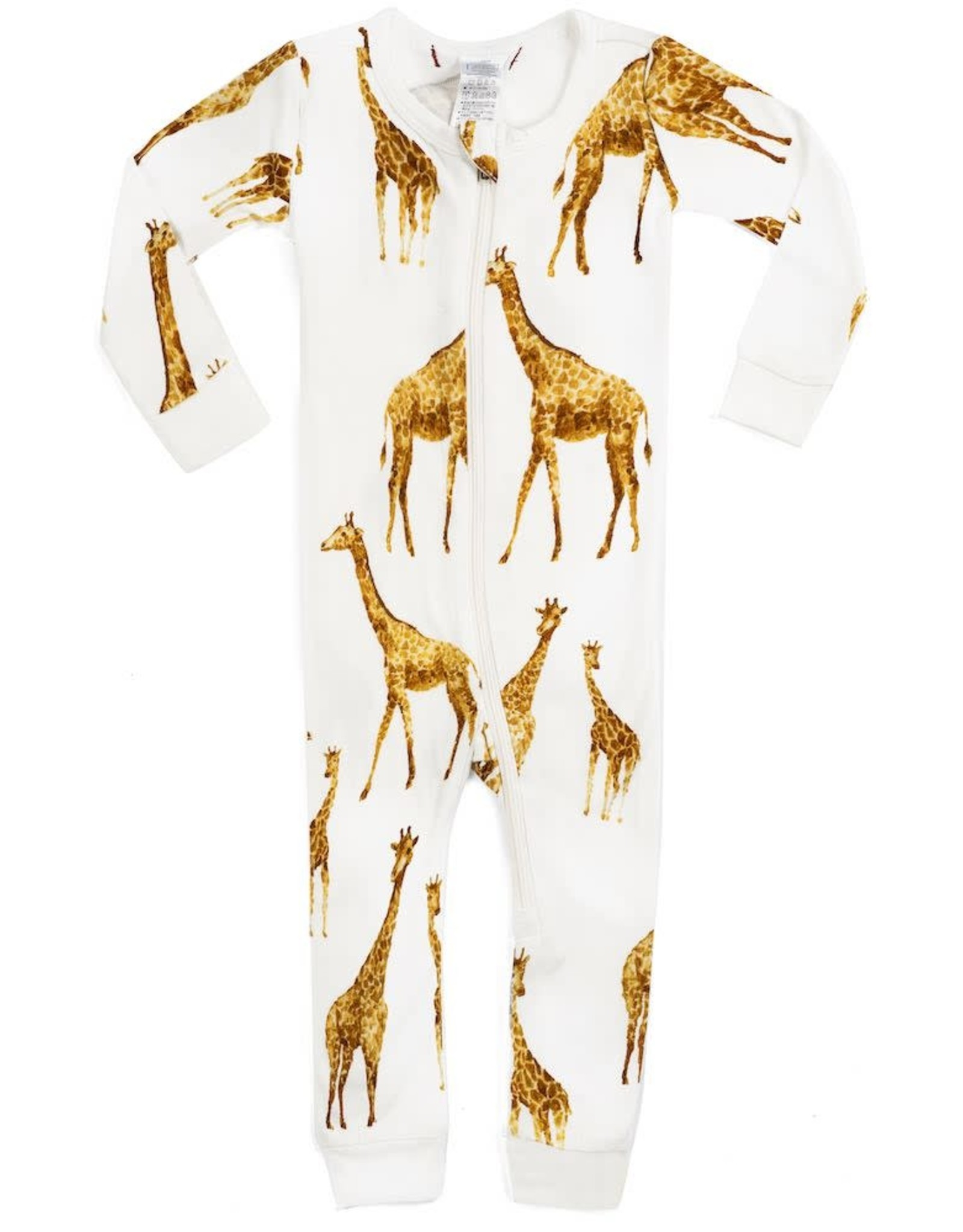 Milkbarn Organic Cotton Zipper Pajama