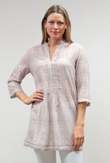 Caite Boho Cotton Voile Tunic