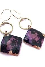 SSD Jewelry Purple Lagoon Earrings