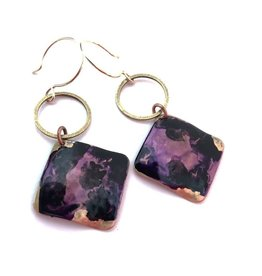 SSD Jewelry Purple Lagoon Earrings