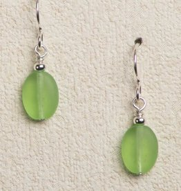 White Light Productions Seaglass  Quick Drop Earrings