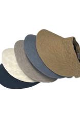 Cotton Visor with SPF